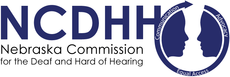 Nebraska Deaf and Hard of Hearing Logo